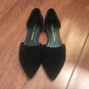 Chinese laundry suede flats